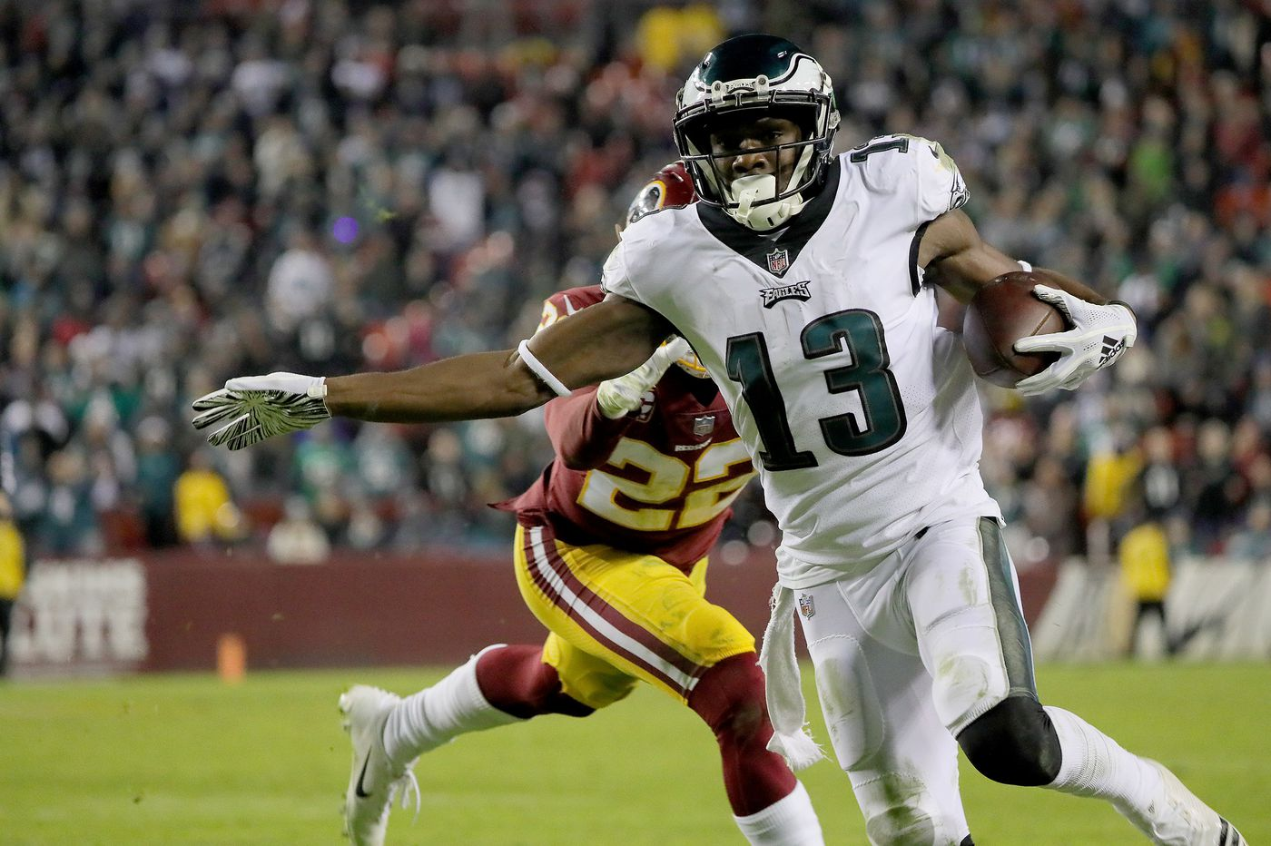 NFL playoffs: Eagles-Bears first-round game kicks at 4:40 p.m. Sunday