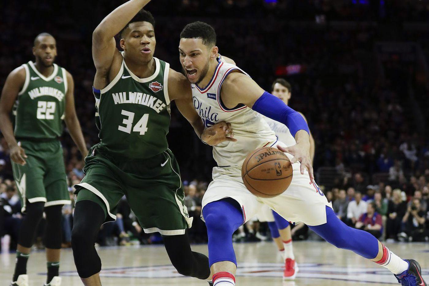 Sixers, Milwaukee Bucks favorites in NBA's loaded Eastern Conference; Joel Embiid seventh in MVP odds