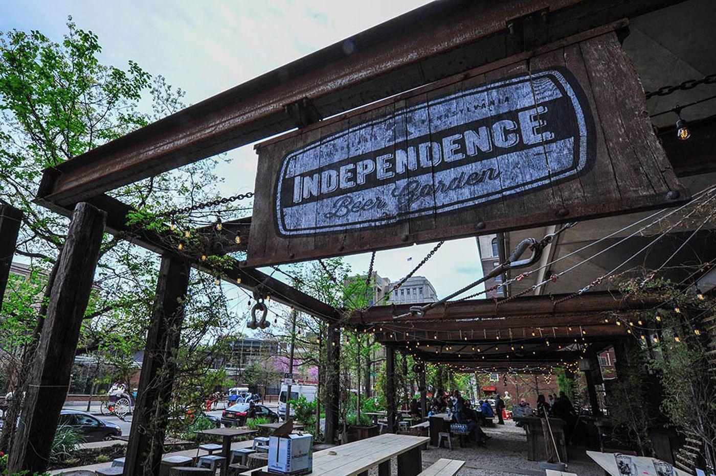 A guide to outdoor restaurants and beer gardens in Philadelphia