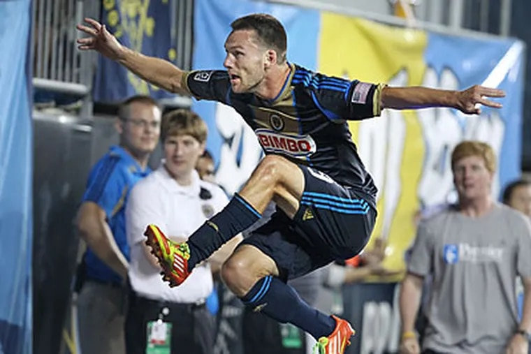 Jack McInerney scored the game's only goal in the 73rd minute. (Ron Cortes/Staff file photo)