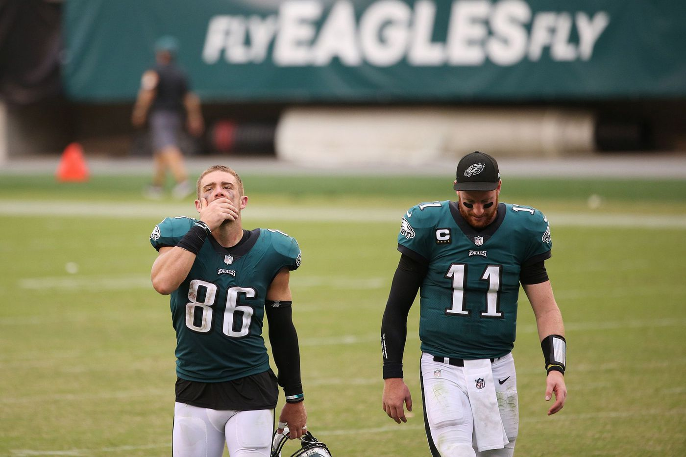 The once-reliable Carson Wentz-Zach Ertz dynamic seems as elusive as that big Eagles contract Ertz sought
