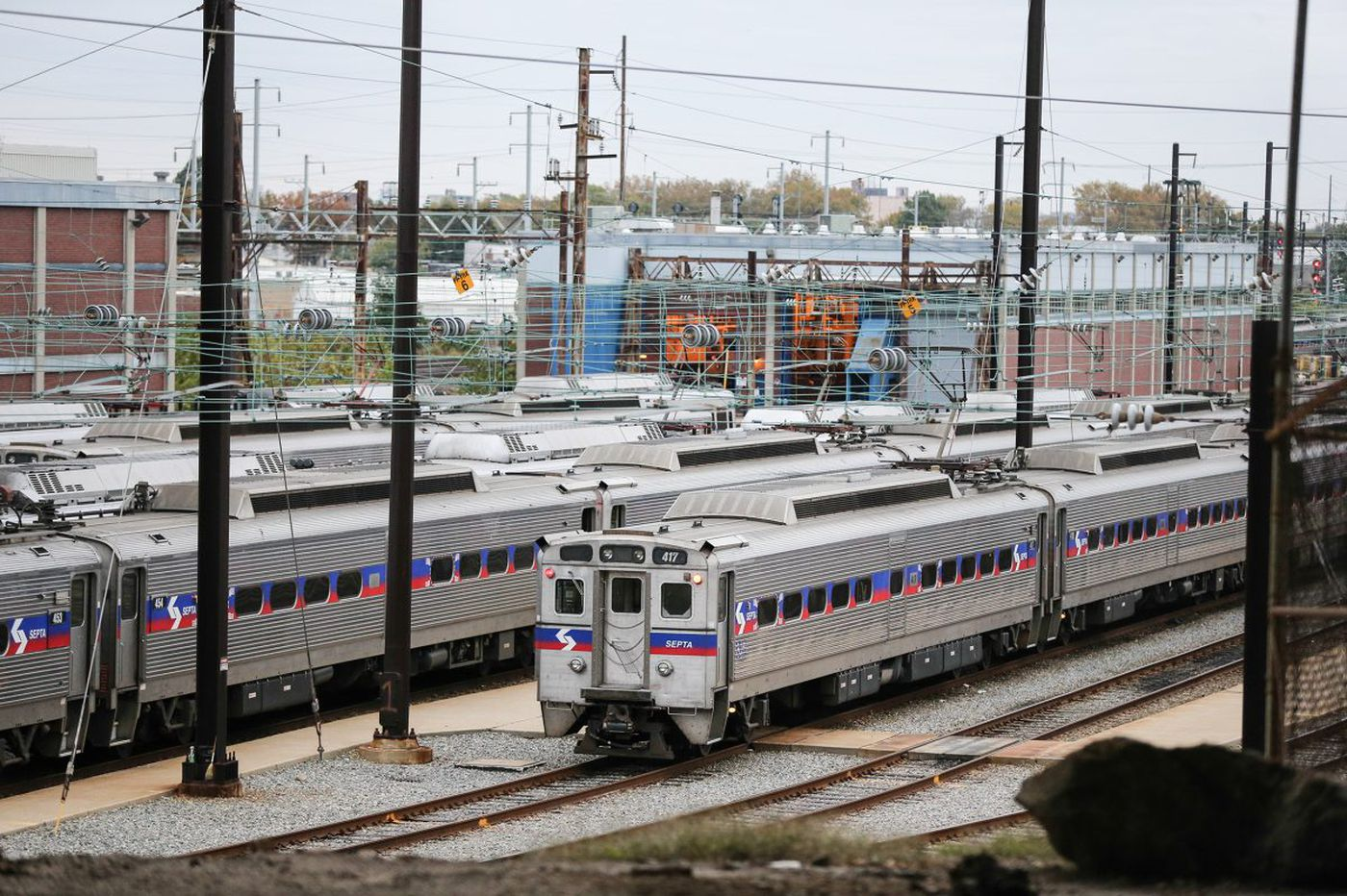 SEPTA: Downed wires causing major Regional Rail delays