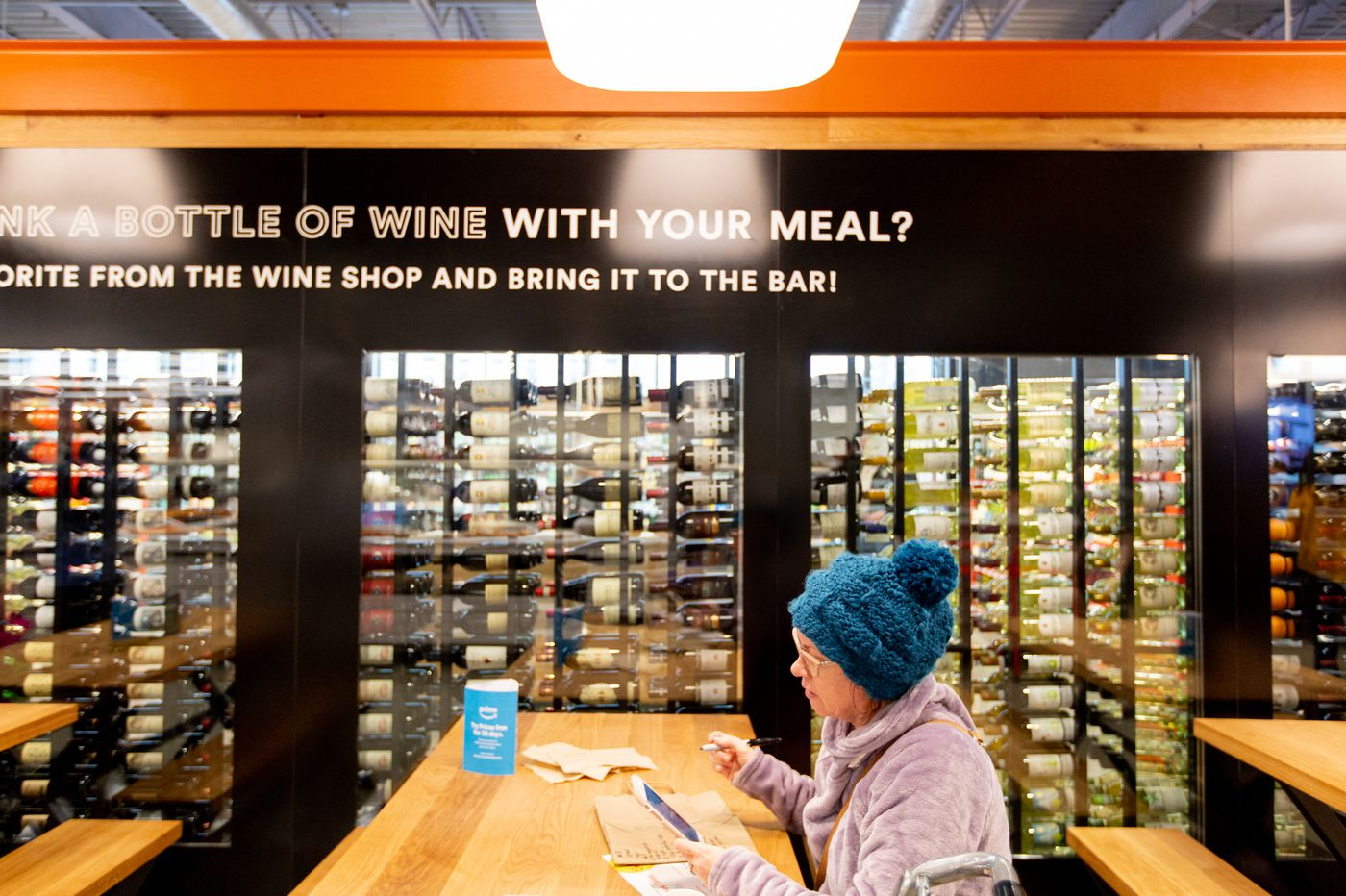 Giant, Wegmans, and Acme have changed how we buy wine and beer in towns across Pa. | Maria Panaritis