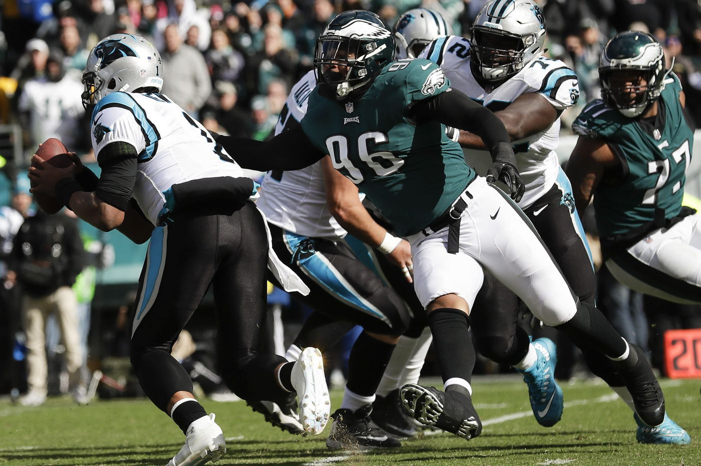 Meltdown-prone Eagles defense suffers another blow with the loss of Derek Barnett