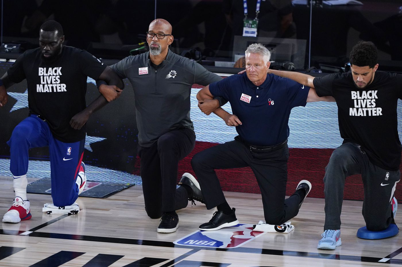 Sixers coach Brett Brown not surprised by Game 1 upsets