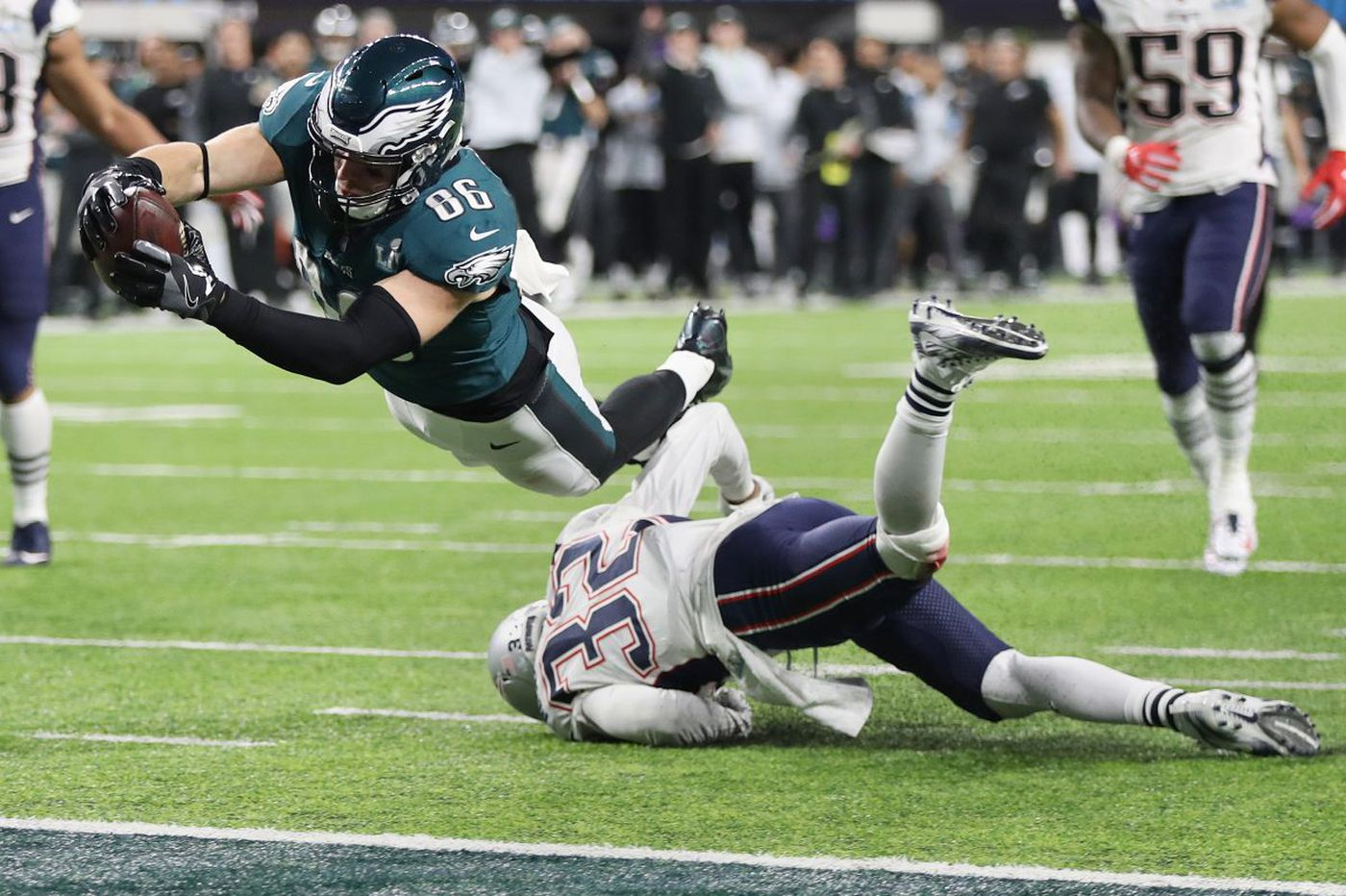 d79b2572c33 Zach Ertz and the touchdown that won the Eagles the Super Bowl