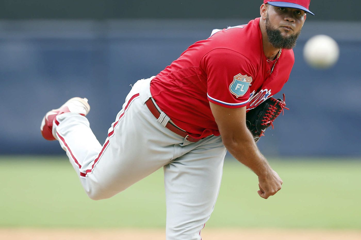 Phillies trade Luis Garcia to Angels for lefthanded reliever Jose Alvarez