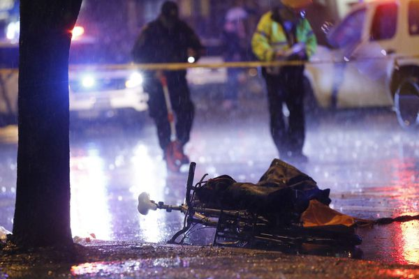 Bicyclist struck and killed by SUV in Spring Garden