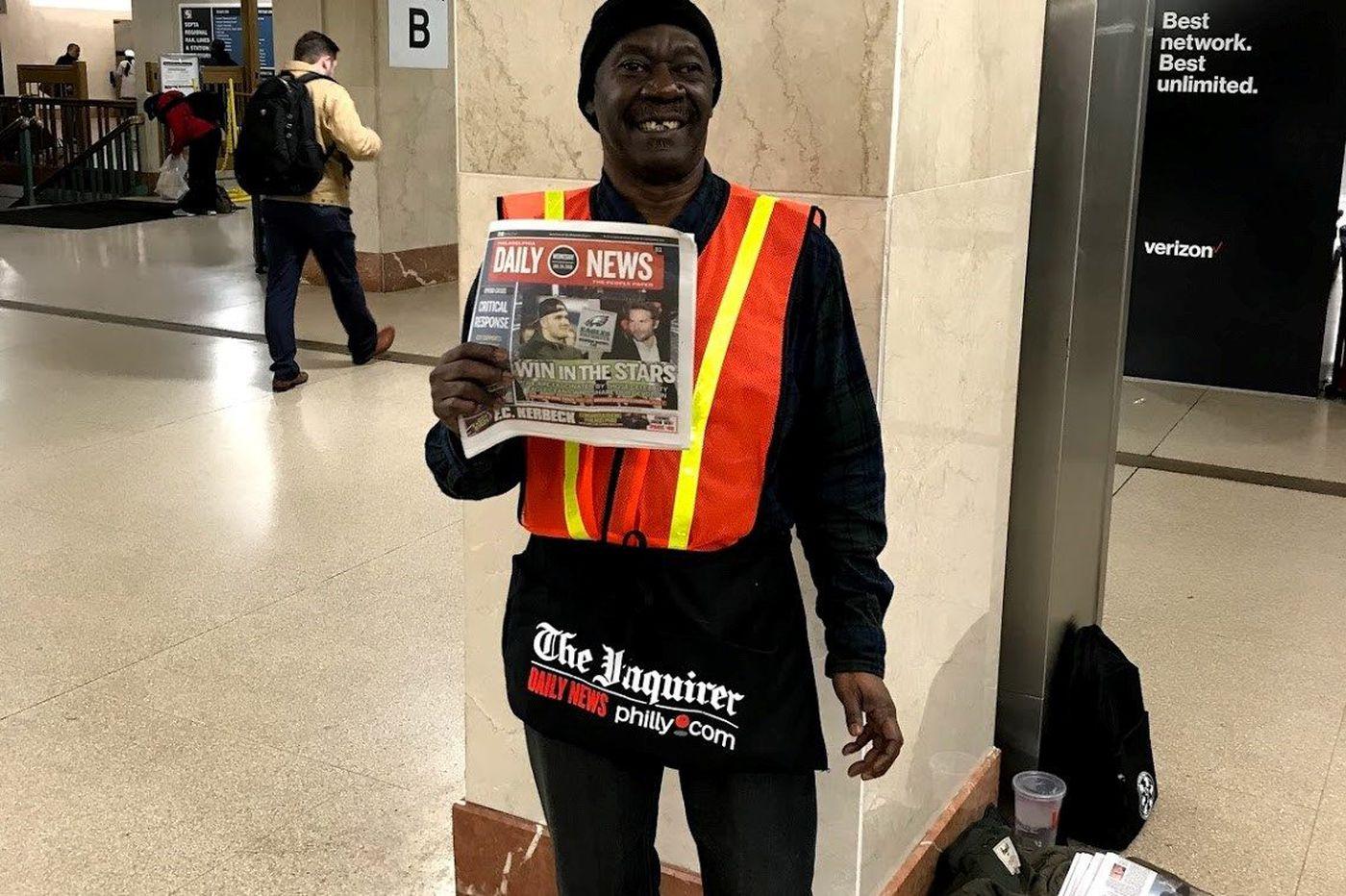 At Septa Suburban Station, newspapers make a comeback
