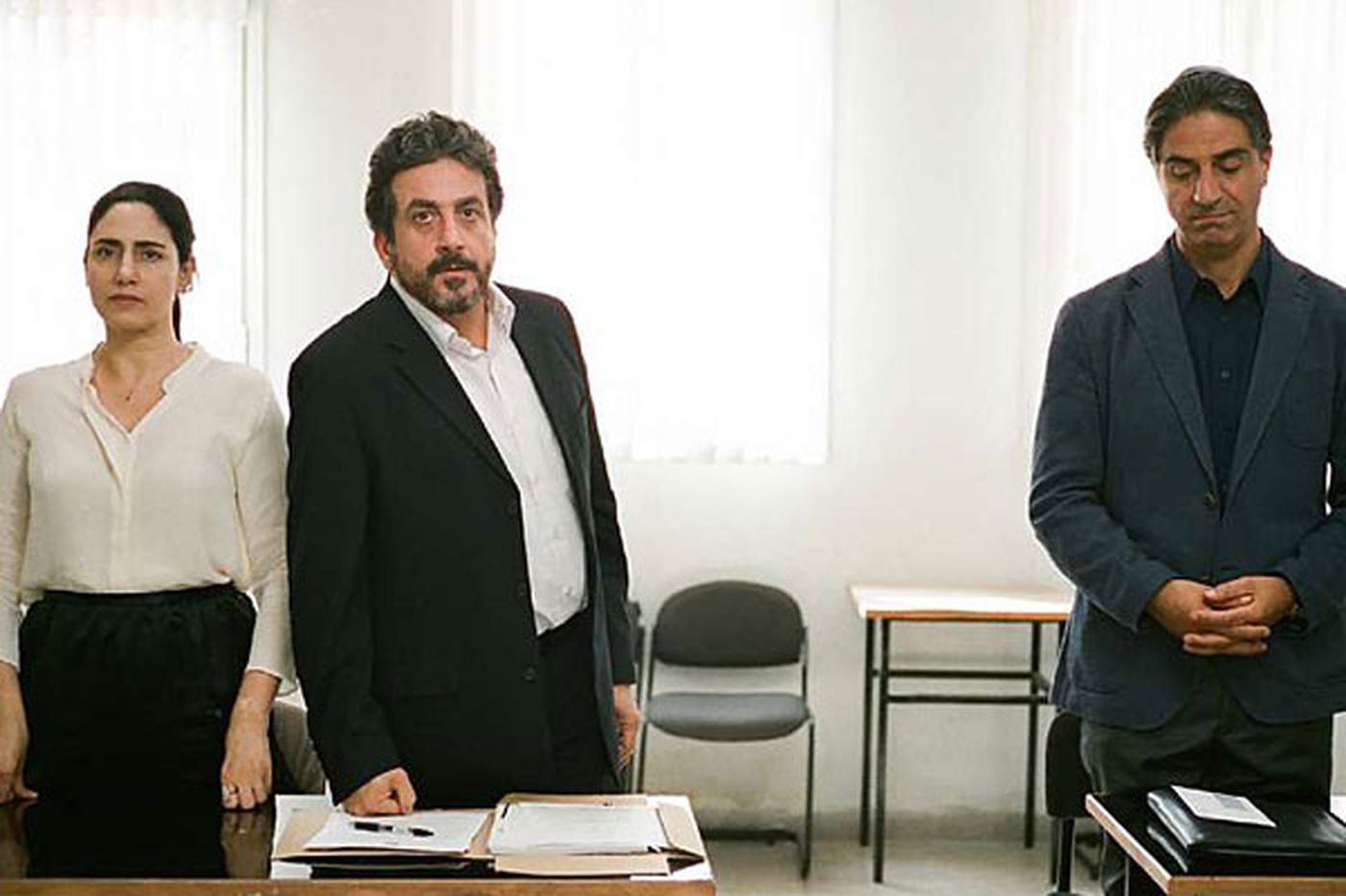 Review: 'Gett' a surprisingly gripping courtroom drama