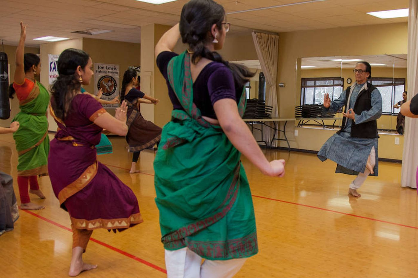 Learning 2,000-year-old dance from an Indian master