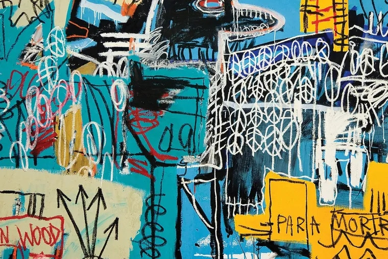 The album cover to the Strokes 'The New Abnormal,' is an image of Jean-Michel Basquiat's 'Bird On Money.'
