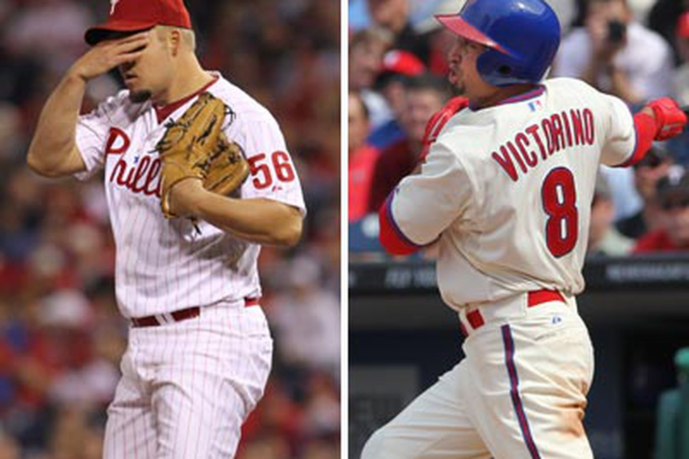 Victorino, Blanton appear to be headed for DL
