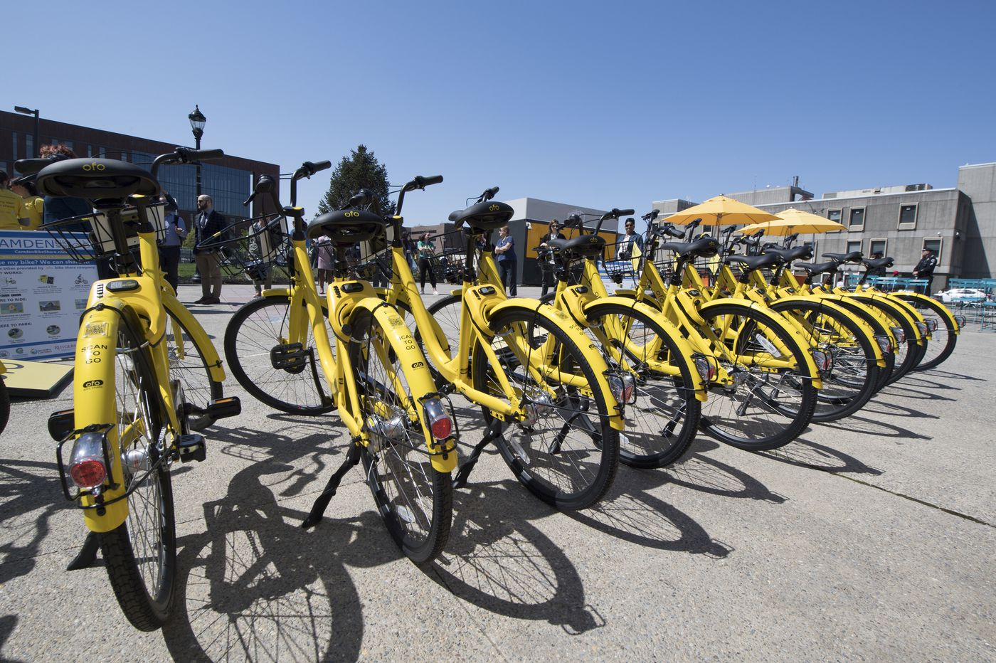 In Camden, bike sharing rolls out of town early