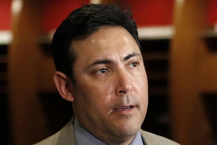 Philadelphia Phillies general manager Ruben Amaro Jr. (Matt Rourke/AP)
