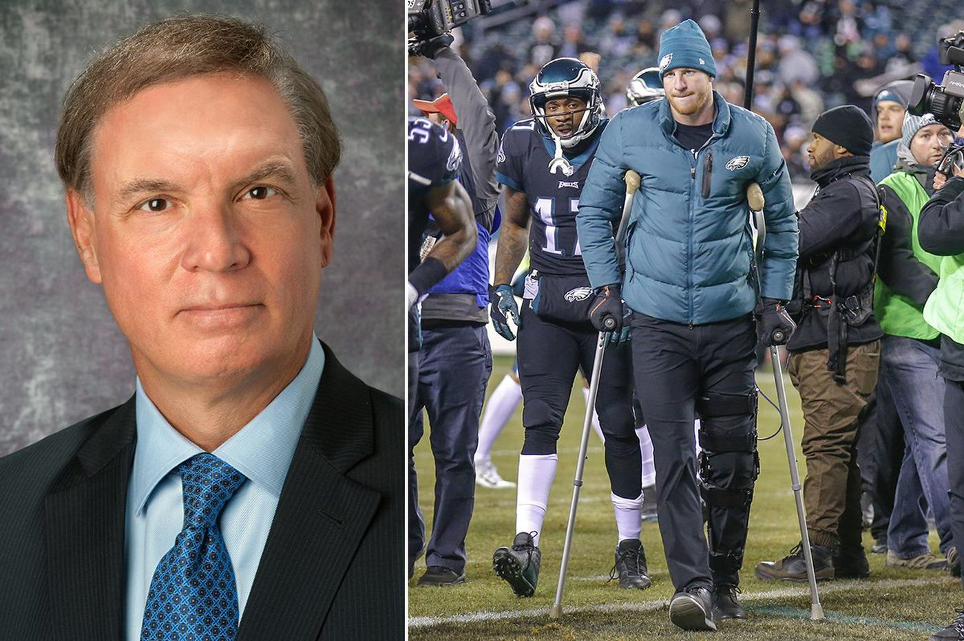 Carson Wentz's surgeon, James Bradley, is an innovator well-known for work with athletes