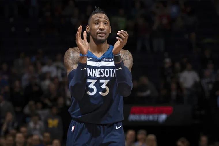 The Minnesota Timberwolves' Robert Covington has been traded to the Houston Rockets.