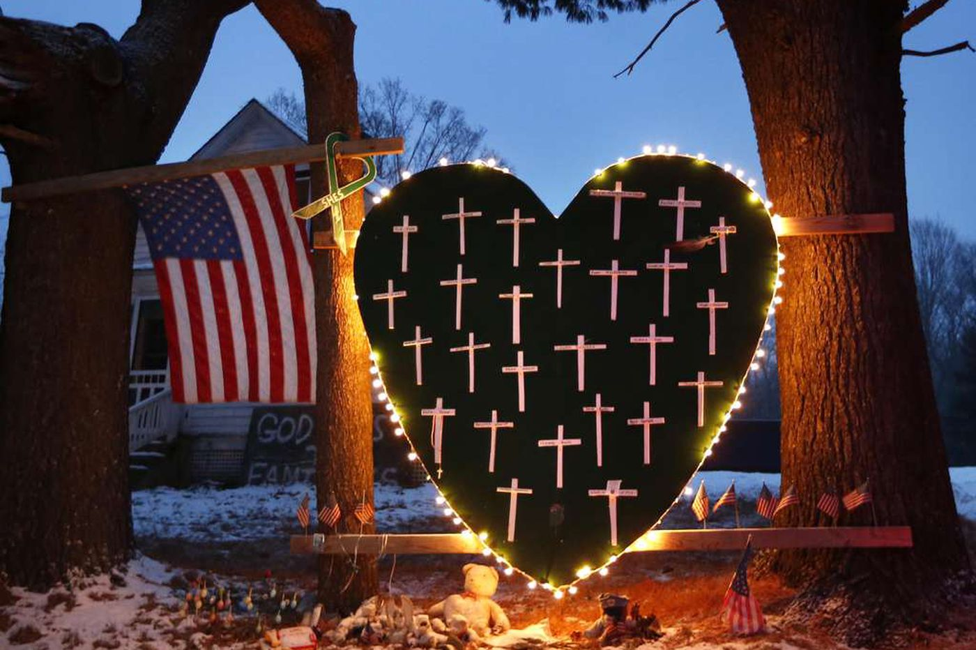 A solemn day for Newtown