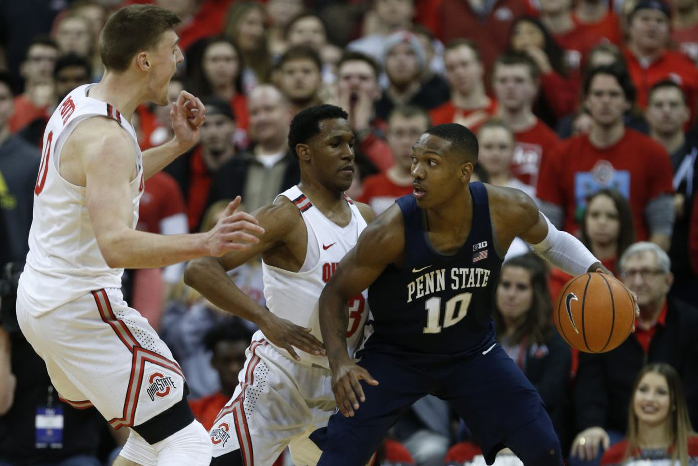 Penn State wins a close game (finally)   College Hoops Watch