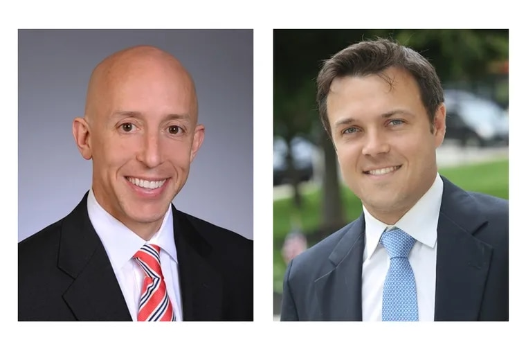Brian Zidek and Kevin Madden won seats on the Delaware County Council on Tuesday — the first time ever that Democrats took more than one seat.