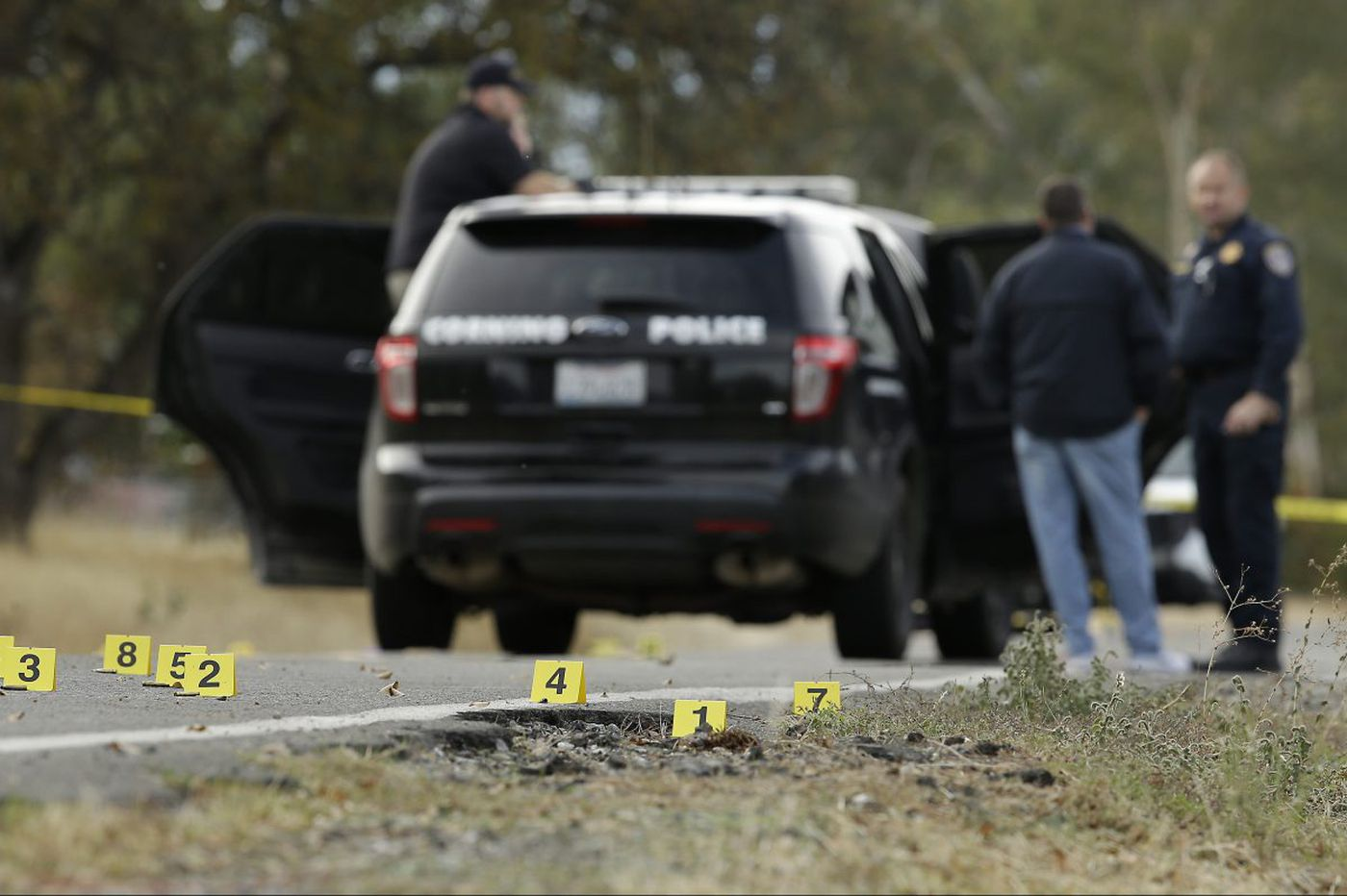 California gunman killed wife before rampaging through community, police say