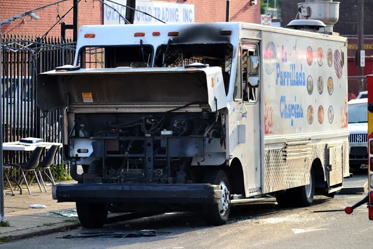 A propane tank attached to the La Parrillada Chapina food truck in Feltonville ruptured on July 1, 2014, causing an explosion that killed its owner, Olga Galdamez, 42, and her daughter Jaylin Galdamez, 17, and catastrophically burned Zoila Santos-Gabriel. The blast also injured 10 others.