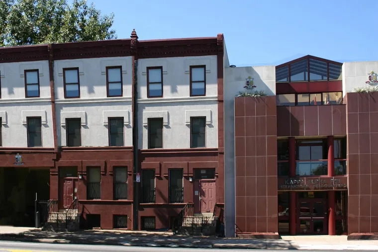 The international headquarters of Kappa Alpha Psi, one of the nation's largest African American fraternities, on the 2300 block of North Broad Street in Philadelphia.