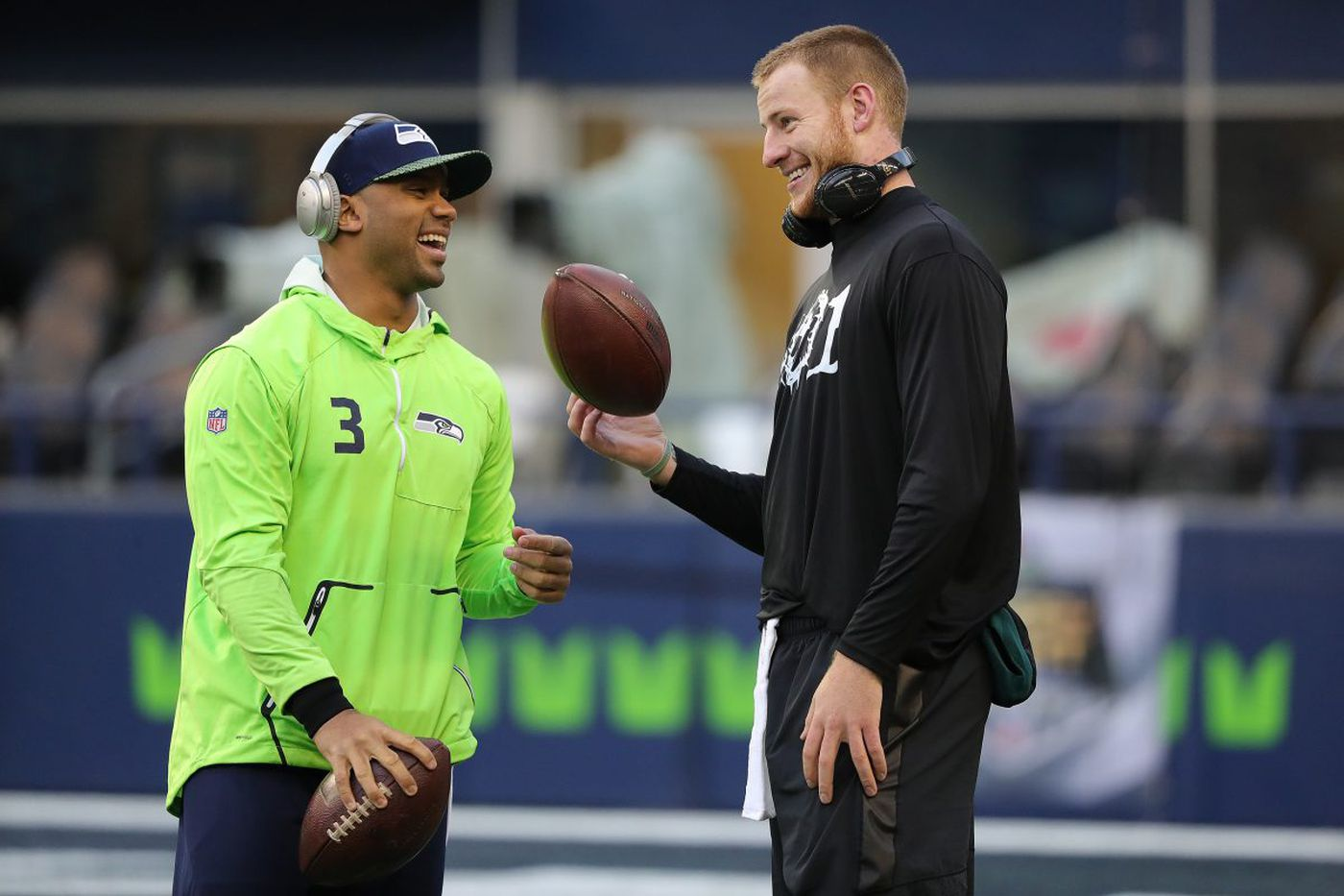 From J.J. Watt to Russell Wilson to 'Snacks,' support for Carson Wentz