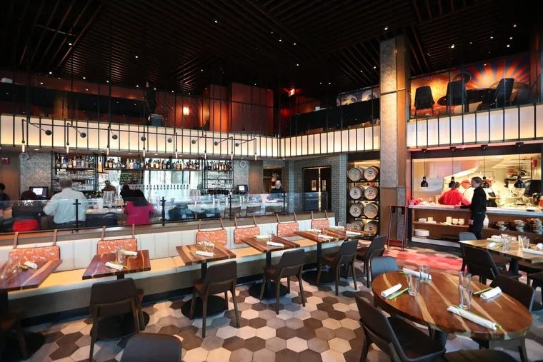 Interior at Danlu, 3601 Market St. As The Common, some of the seating will be changed but most of the bones will remain.