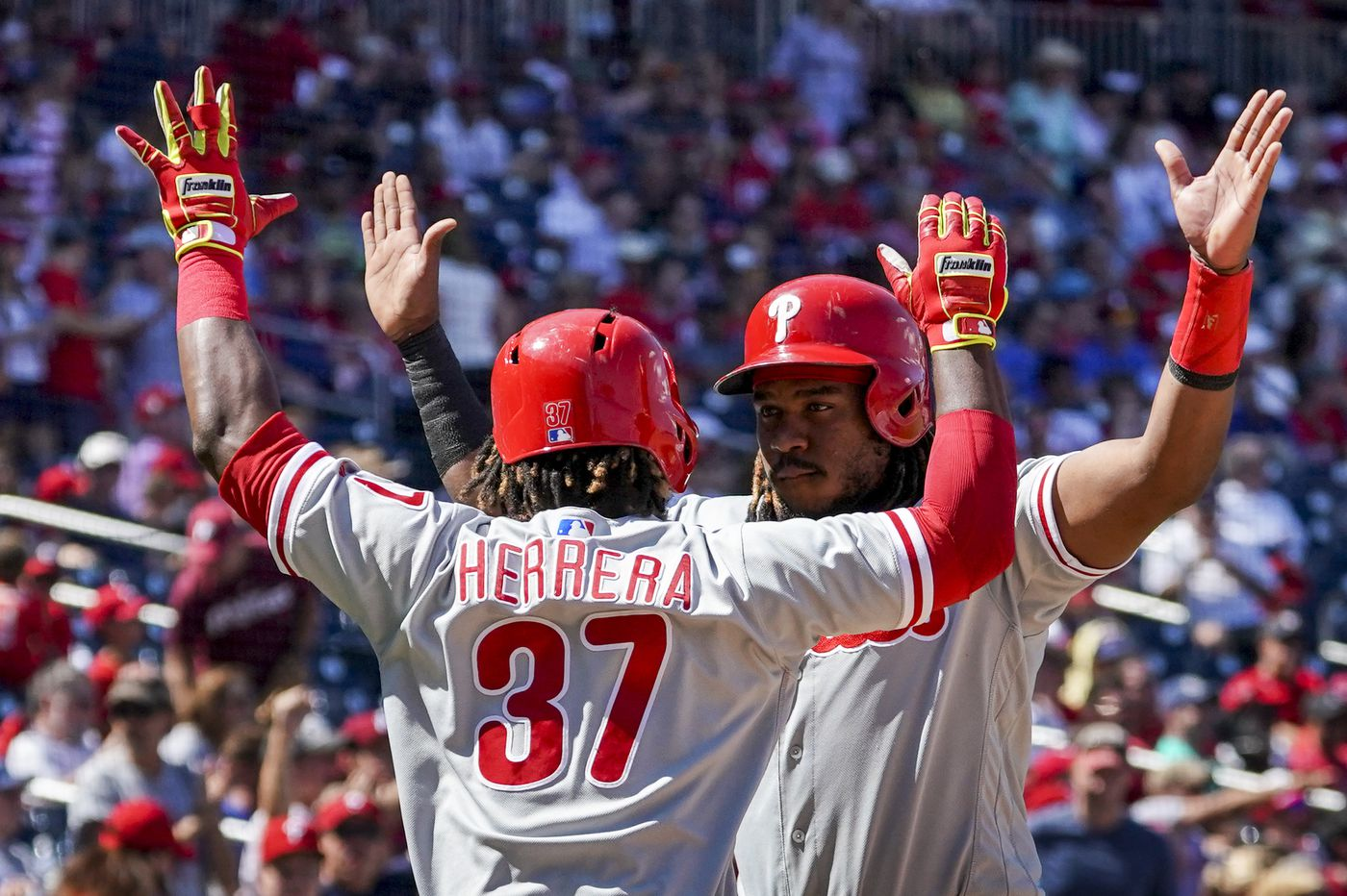The Phillies aren't dead in the playoff race yet. One moment against the Nationals showed why.   David Murphy