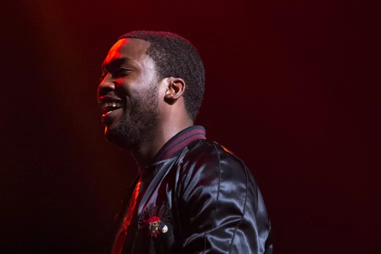 Meek Mill performs in July at the Fillmore in Northern Liberties for a private show presented by Jay-Z's Tidal in support of his new album, Wins and Losses. ( MARGO REED / Staff Photographer )