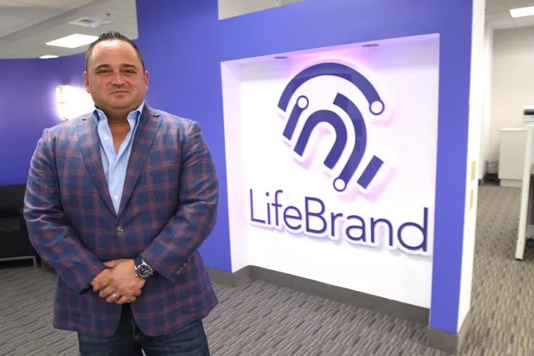 LifeBrand President and CEO Thomas Colaiezzi I shown at his corporate office  Monday Sept. 13,  2021 in West Chester, Pa.   For the Inquirer Bradley C. Bower