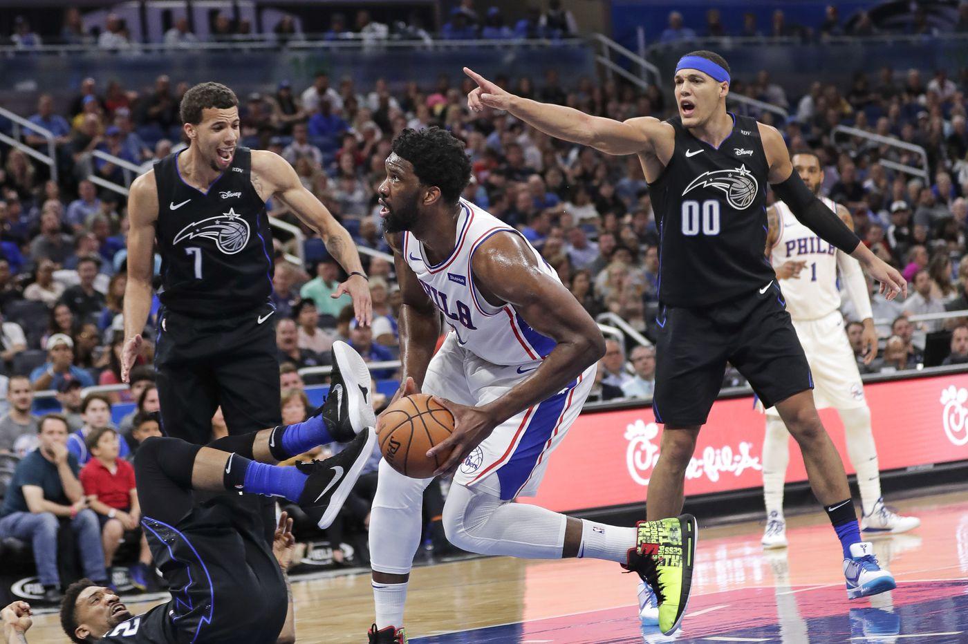 Sixers fall flat in Orlando, lose 119-98