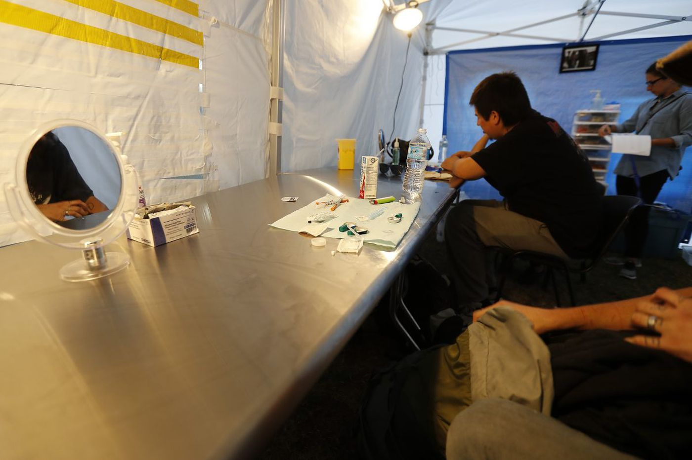 What is a safe injection site?