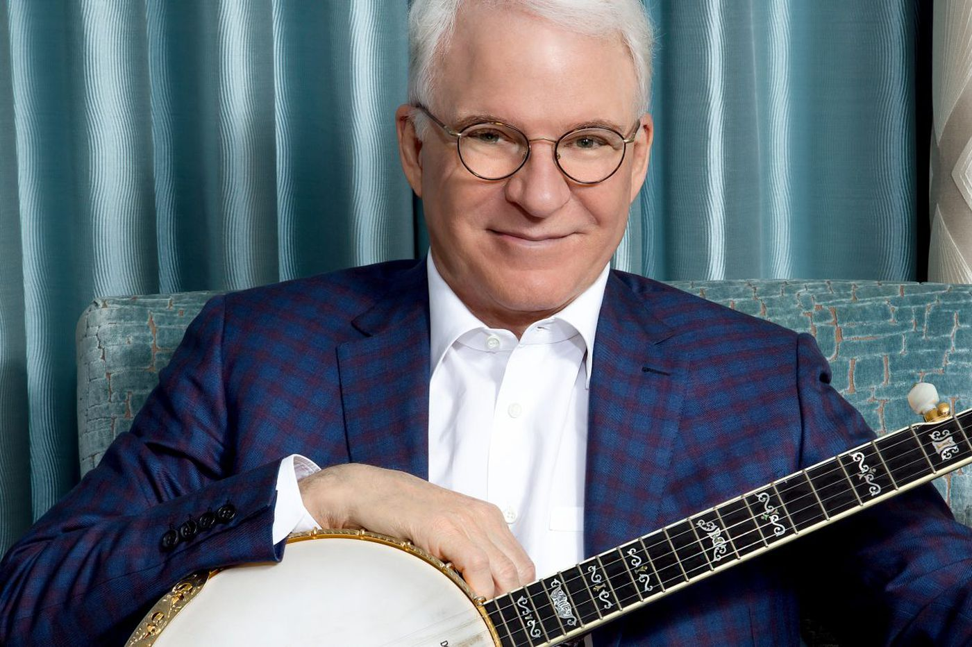 Steve Martin is guest for Academy of Music Anniversary Concert - with banjo