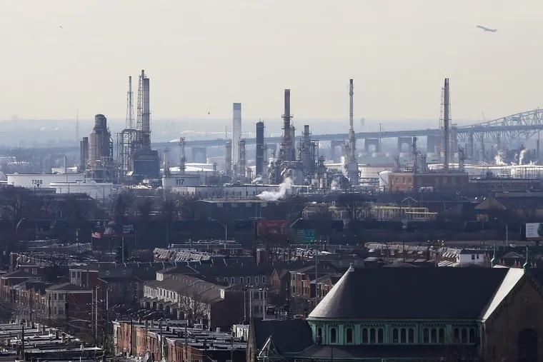 The Philadelphia Energy Solutions refinery.