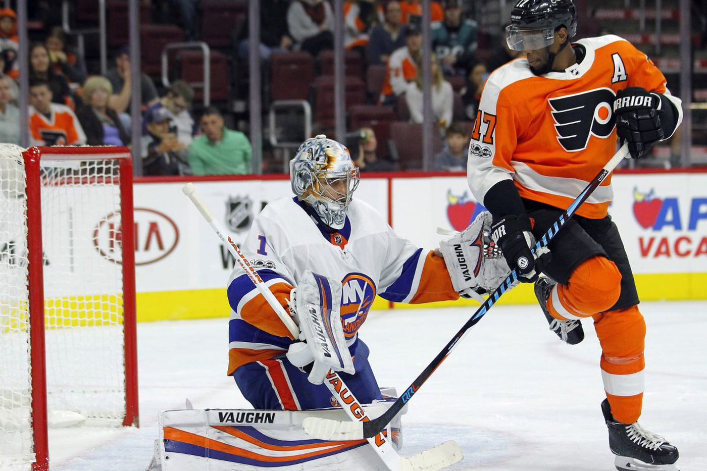Flyers end preseason with 5-2 loss to Islanders