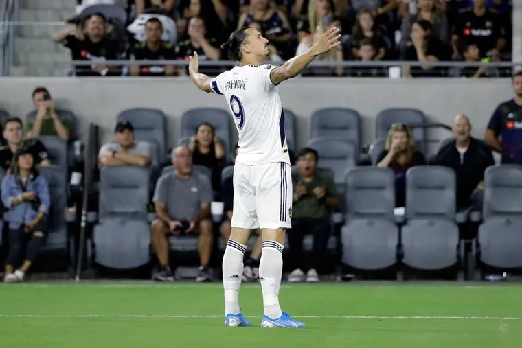 Zlatan Ibrahimović (above) of the Los Angeles Galaxy and Wayne Rooney of D.C. United will be among the stars in Major League Soccer's postseason spotlight.