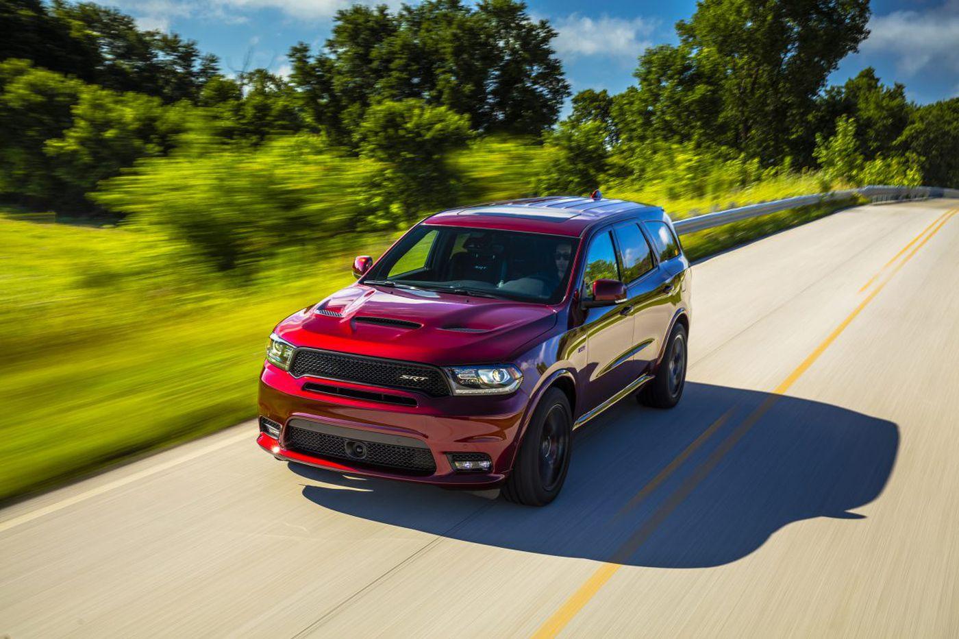 Dodge's Durango SRT offers three rows of performance