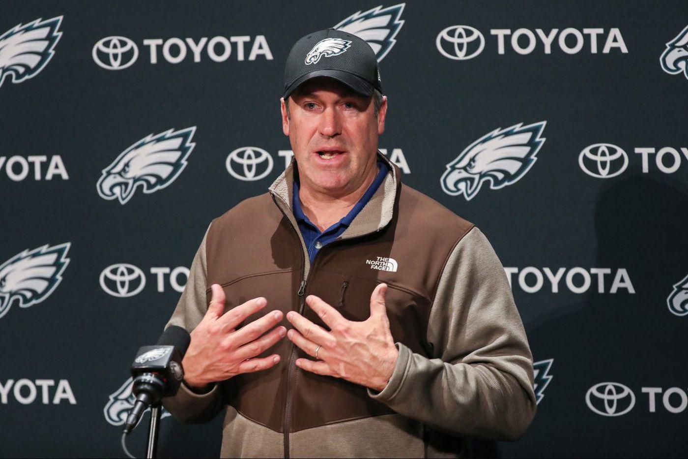 Eagles coach Doug Pederson press conference - live video