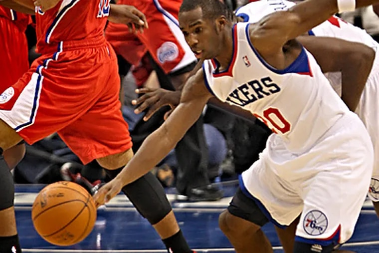 Jodie Meeks scored 9 points Wednesday night against the Clippers. (David M Warren / Staff Photographer)