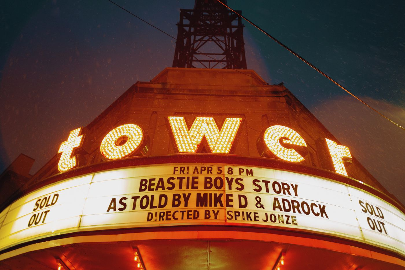 The remaining Beastie Boys tell their story at an endearing, sometimes awkward night at the Tower Theater