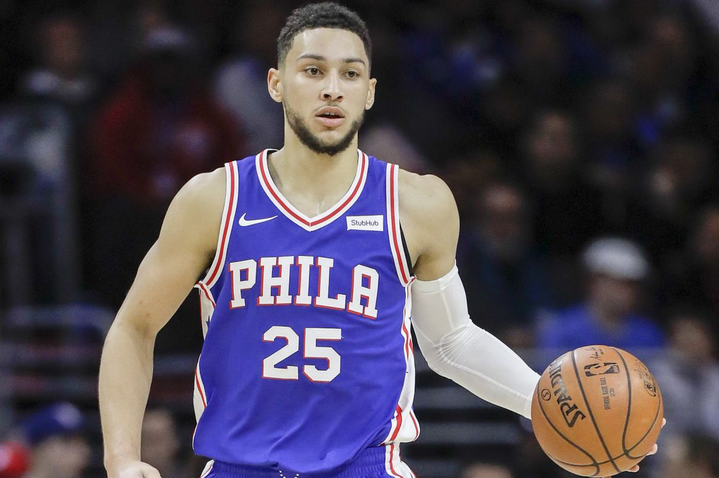 Sixers' Ben Simmons listed as questionable vs. Wizards