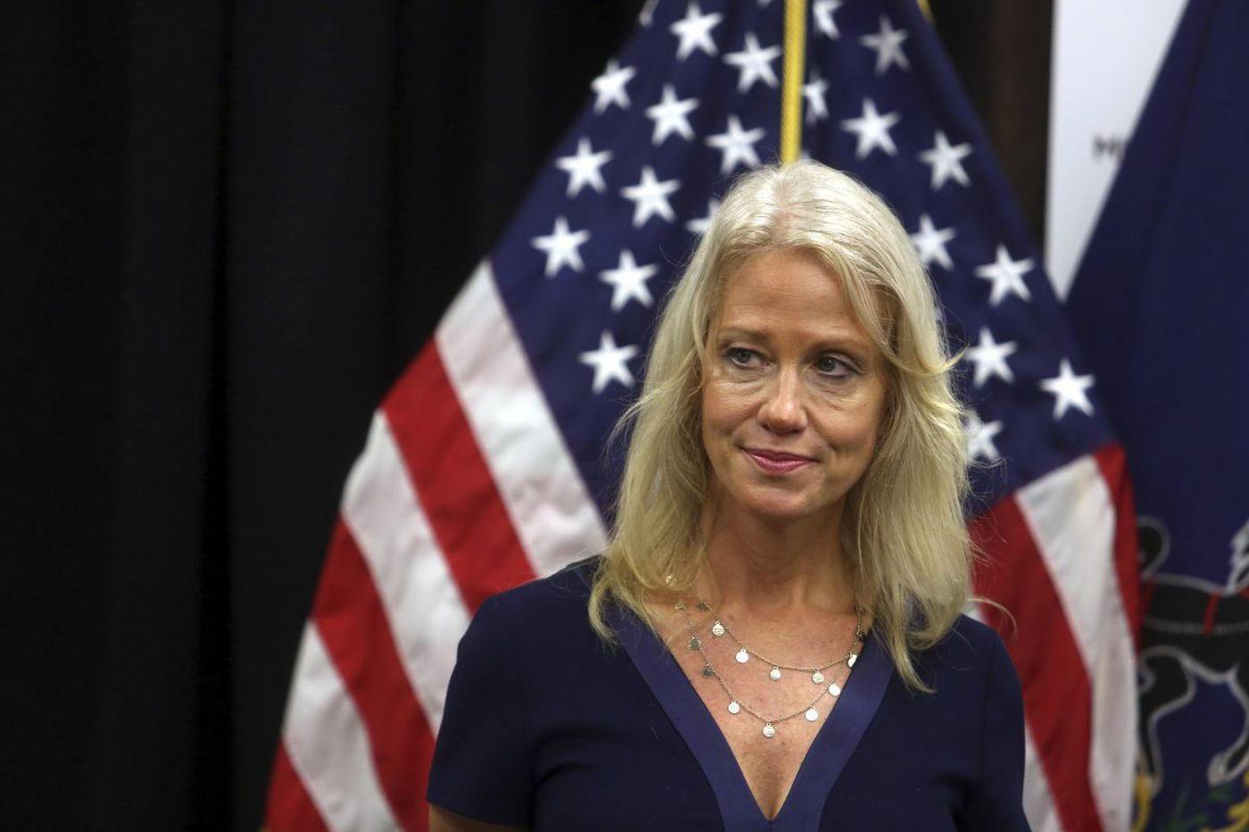 Kellyanne Conway will now lead the fight against opioids - God help us all | Mike Newall