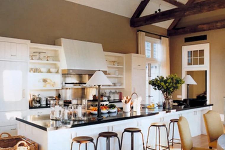 "Ina Garten's kitchen is seenin her new book, ""Barefoot Contessa Back to Basics."""