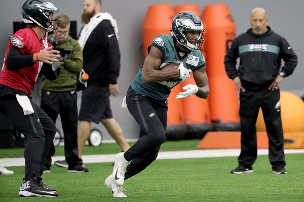 Josh Adams, C.B. South product, has played his way to the top of Eagles' depth chart