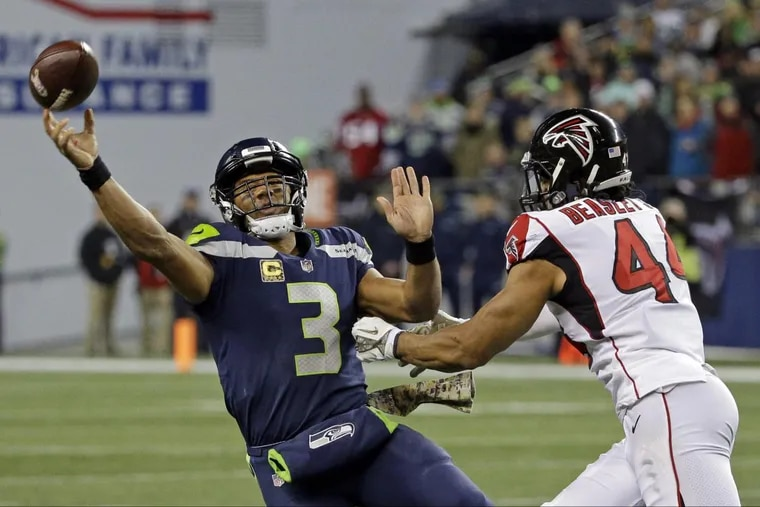 How much of a factor will Seahawks quarterback Russell Wilson (3) be Sunday night?