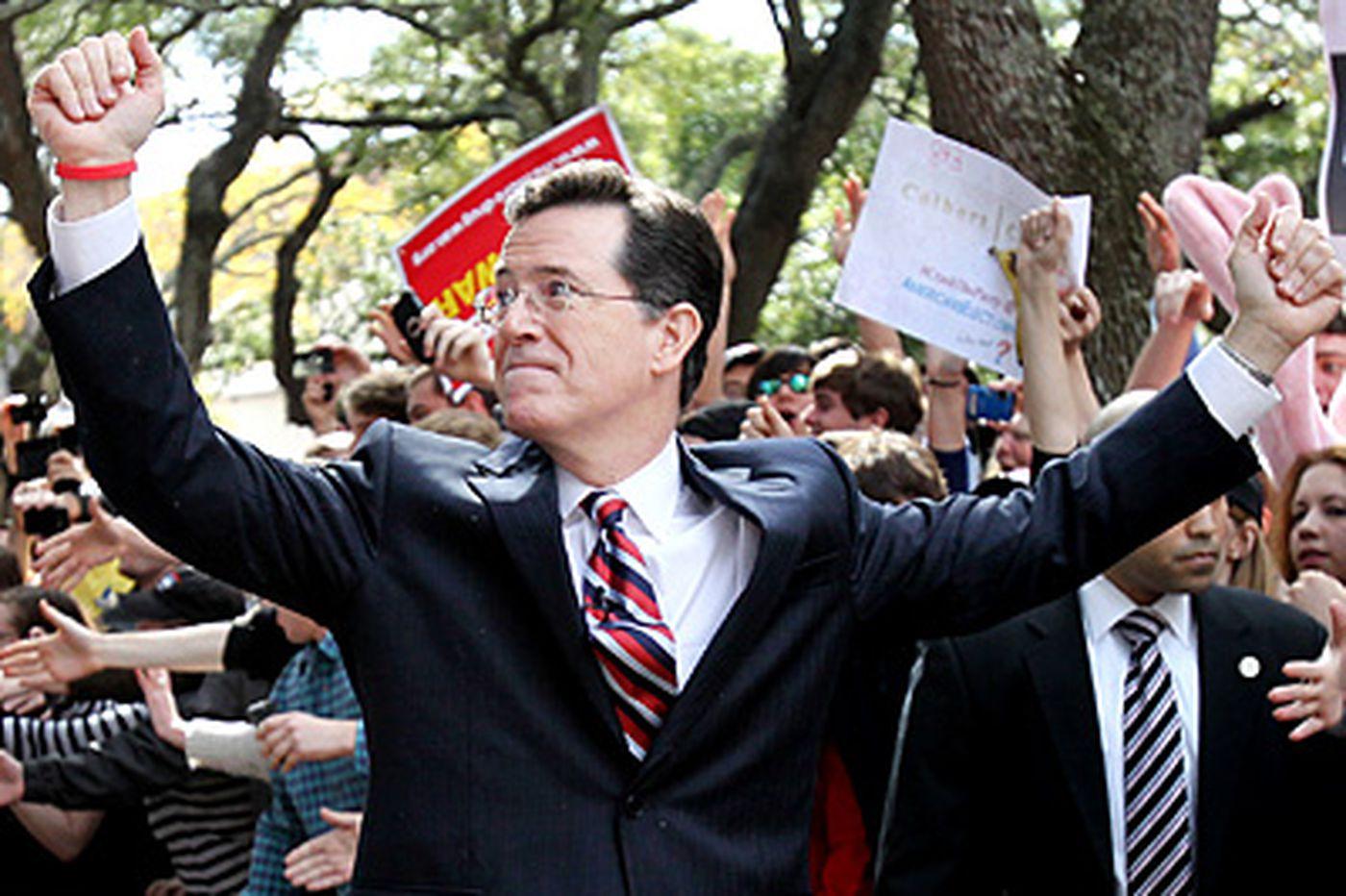 The American Debate: Our leaders, not Colbert, made the mockery