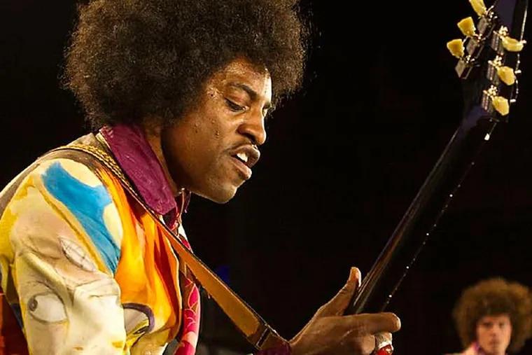 Andre Benjamin as Jimi Hendrix.