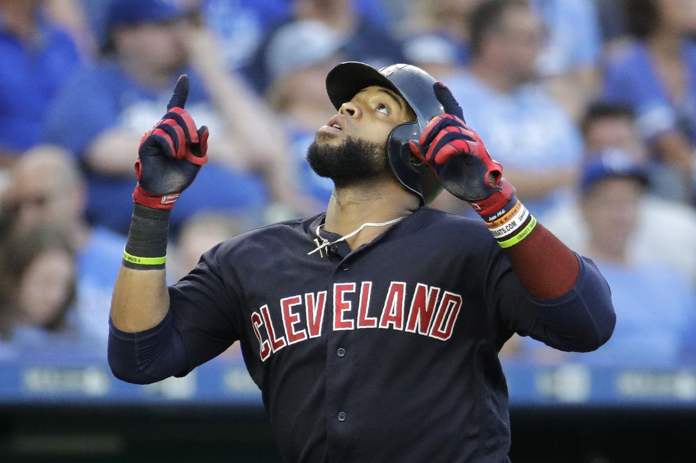 Carlos Santana Is An All Star After Smashing The Phillies Tv